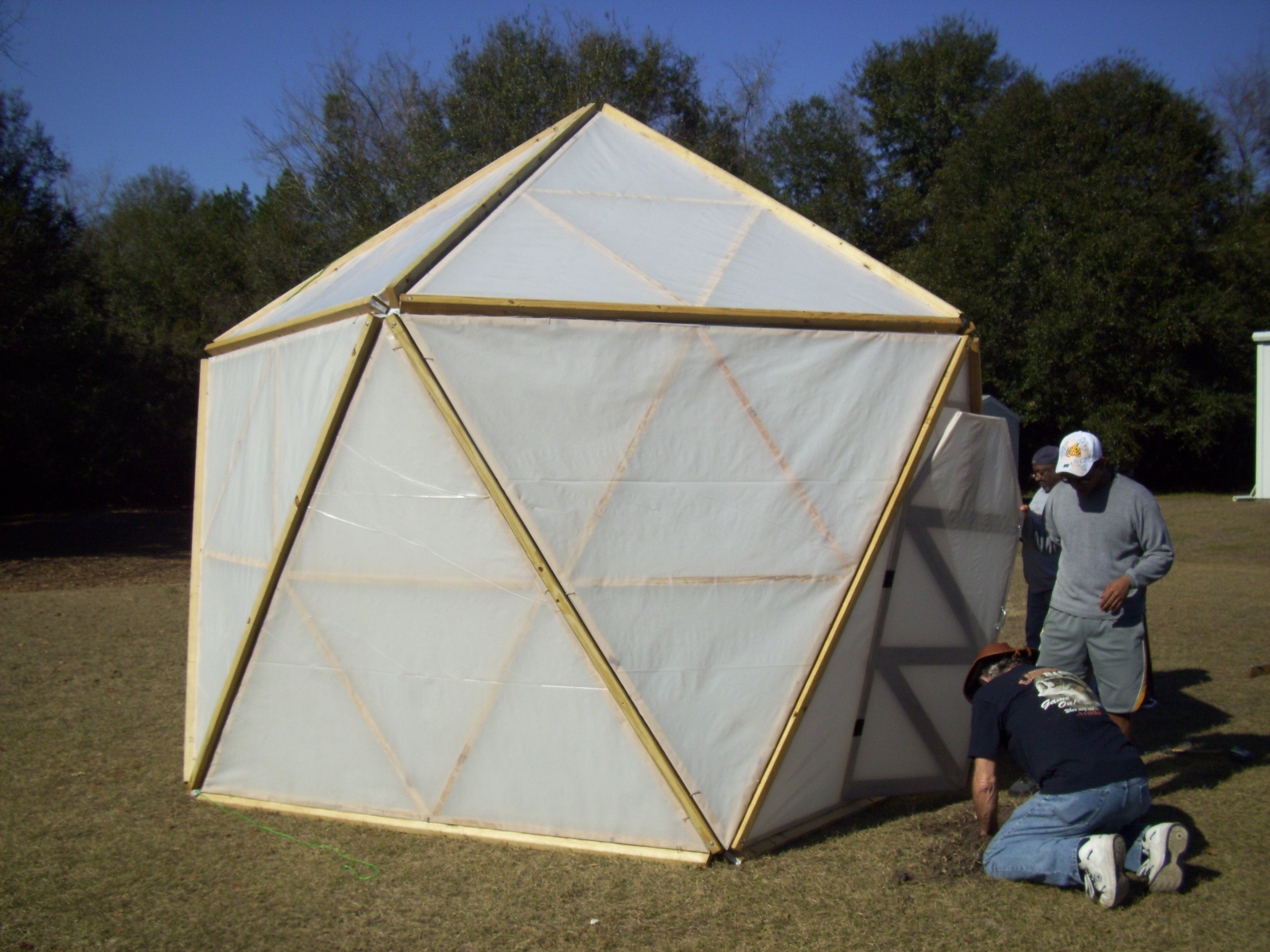 The ... & This blog is about my project to use dome-shaped tents for ...